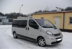 Извършване на трансфери Opel Vivaro от аерогара Пловдив