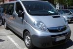 Извършване на трансфери Opel Vivaro от аерогара София