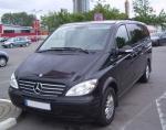 Извършване на трансфери Mercedes Viano до аерогара Бургас