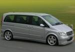 Извършване на трансфер с Mercedes Viano до летище Бургас