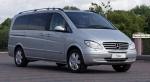 Осигуряване на трансфери Mercedes Viano до аерогара Варна