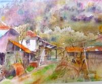Авторска картина живопис Пролетно ухание