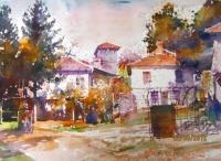 Авторска картина живопис Есен