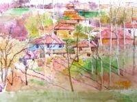 Авторска картина живопис Лекота