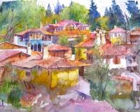 Авторска картина живопис Копривщица