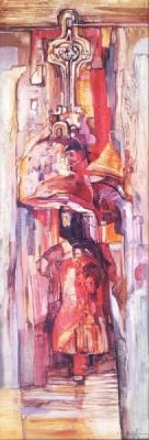 Живописна авторска картина Камбанен звън