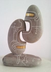 Авторска скулптура Силует