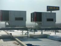 Професионални покривни климатици за сгради