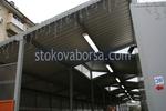 изграждане на плоски поликарбонатни навеси