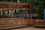 изработка на навес от дърво и поликарбонат
