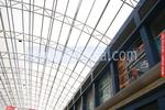 поликарбонатни навеси за търговски центрове