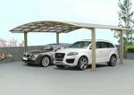 изграждане на навеси от поликарбонат за автомобил