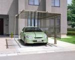 поръчка производство на навес от поликарбонат за един автомобил