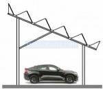 изграждане на навес за 1 автомобил