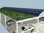 изработка на навес за повече автомобили
