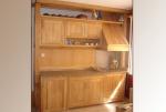 Дъбова състарена кухня