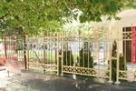 изработка на решетъчна позлатена кована ограда по поръчка