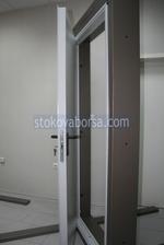 una sola hoja de la puerta a prueba de fuego 1140x2150mm