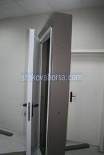 еднокрилна пожароустойчива врата 1100x2150мм