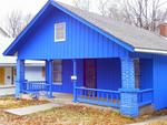 aislamiento apartadero azul en orden