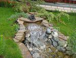 Водопад и фонтан на даче своими руками