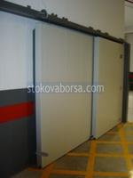 πυρίμαχο συρόμενη πόρτα