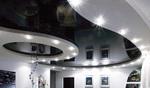 модерни кръгли окачени тавани