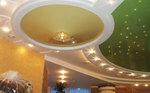 монтаж на кръгъл окачен таван от гипсокартон по поръчка