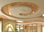 кръгъл таван от гипсокартон