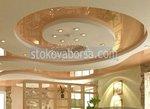 кръгъл окачен таван