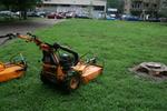 Поддържане на зелени площи по проект