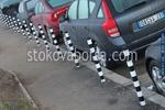 ограничителни стълбчета по поръчка за паркиране