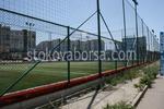 оградни метални мрежи за спортно игрище