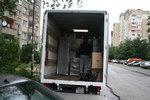 качване на товари в камион