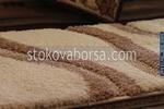 Правоъгълни машинни килими с различни десени от полипропилен