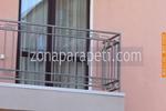 балконски метални парапети от метални профили по поръчка