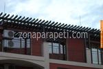 метални парапети от метални профили за балкони по поръчка
