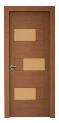 Дизайнерска интериорна врата цвят мока