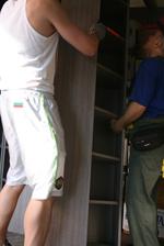 транспортиране на гардероби в страната
