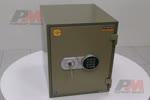 Сейф с електронен код и ключ с висока защита