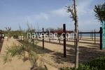 дървен навес за плажове по поръчка
